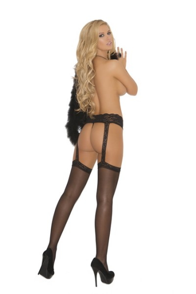 Sheer Garter Belt Hose
