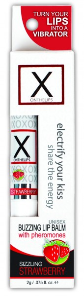 X On The Lips Strawberry