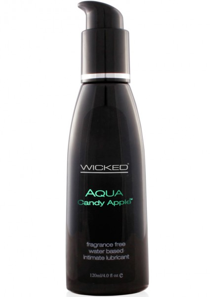 Wicked Aqua Candy Apple Lube 4oz