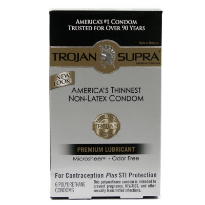 Trojan Supra Lubricated 6pc